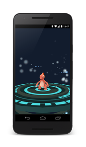 Pokémon GO Evolution Screenshot